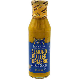 The New Primal Almond Butter Tumeric Dressing, 10 oz