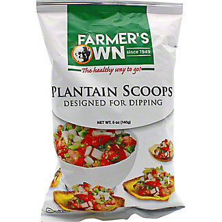 Farmers Own Farmers Own Plantain Scoops, 5 oz