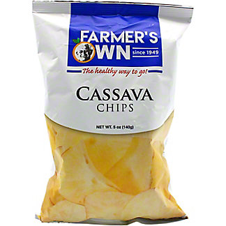Farmers Own Farmers Own Cassava Chips, 5 oz