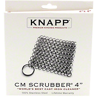 "Knapp 4"" Chainmail Scrubber, ea"