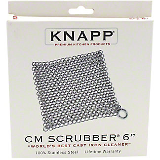 "Knapp 6"" Chainmail Scrubber, ea"