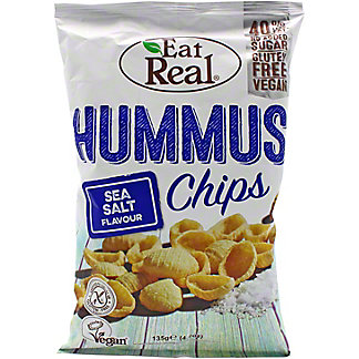 Eat Real Sea Salt Hummus Chips, 4.7 oz