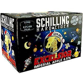 Schilling Excelsior, 6 pk Cans, 375 mL ea