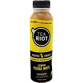 Tea Riot Yerba Mate, 12 oz