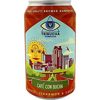 Tribucha Kombucha Cafe Con Bucha, 12 oz
