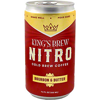 Kings Brew Coffee Cold Brew Bourbon Butter, 7.5 oz
