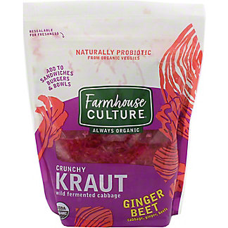 Farmhouse Culture Kraut Ginger Beet, 16 oz