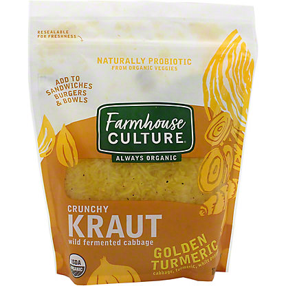 Farmhouse Culture Kraut Golden Turmeric, 16 oz