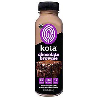 Koia Keto Drink Brownie Chocolate Protein, 12 oz