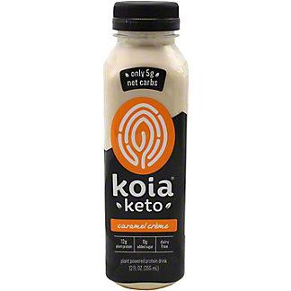 Koia Keto Drink Caramel Cream Protein, 12 oz
