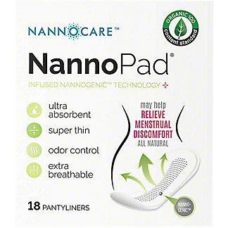 Nannopad Feminine Pantyliner, 18 ct