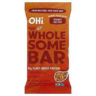 OHi Peanut Butter Superfood Bar, 1.8 oz
