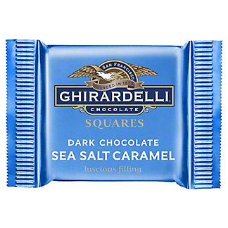 Ghirardelli Dark Sea Salt Individual Squares, .53 oz