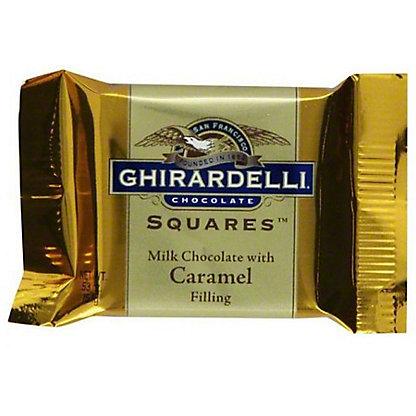 Ghirardelli Milk & Caramel Individual Squares, .53 oz