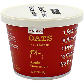 Rxbar Oats Apple Cinnamon, 2.18 oz