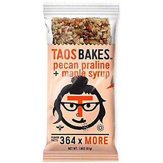 Taos Bakes Taos Bakes Pecan Praline And Maple Syrup, 1.8 oz
