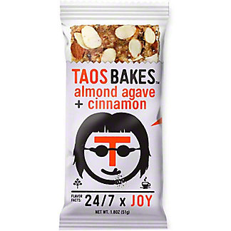 Taos Bakes Taos Bakes Almond Agave And Cinnamon, 1.8 oz