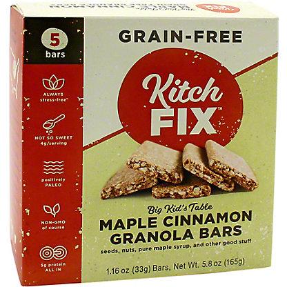 Kitchfix Kitchfix Grain Free Maple Cinnamon Bars, 5 ct