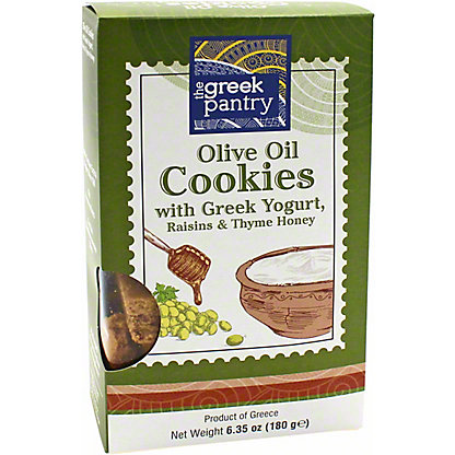 The Greek Pantry Greek Pantry Olive Greek Yogurt Cookies, 6.35 oz