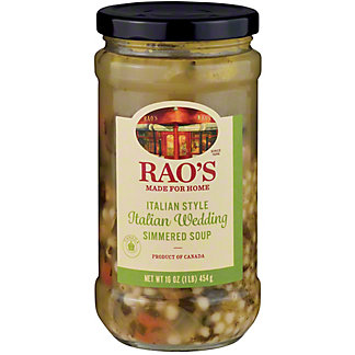 Rao's Italian Style Italian Wedding with Meatballs Simmered Soup, 16 oz