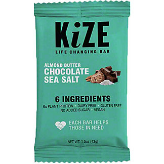 Kize Almond Butter Choco Sea Salt, 1.5 oz