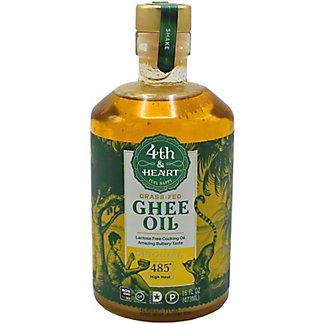 4th & Heart Grass-Fed High Heat Ghee Oil, 16 oz
