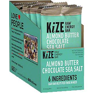 Kize Almond Butter Chocolate Sea Salt, 10 pk