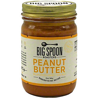 Big Spoon Roasters Peanut Butter With Wildflower Honey and Sea Salt , 13 oz