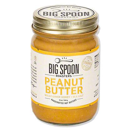 Big Spoon Roasters Peanut Butter With Wildflower Honey and Sea Salt, 13 oz