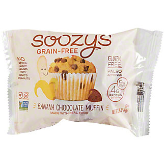 Soozy's Grain-Free Banana Chocolate Muffin, 2.25 oz