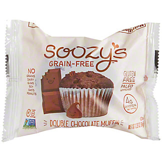 Soozy's Grain-Free Double Chocolate Muffin, 2.25 oz