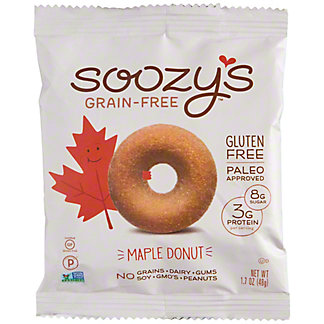 Soozy's Grain-Free Maple Donut, 1.7 oz