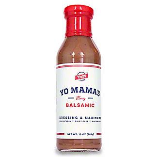 Yo Mama's Honey Balsamic Dressing, 13 oz