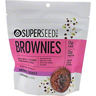 Superseed Well Brownie Cookies, 3 oz