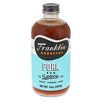 Franklin Barbeque Pork BBQ Sauce, 14 oz