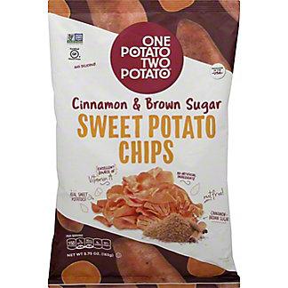 One Potato Two Potato Sweet Potato Chips Cinnamon & Brown Sugar, 5.75 oz