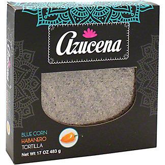 Azucena Blue Corn & Habanero Tortillas, 17 oz