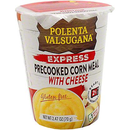 Valsugana Polenta Express Pre-Cooked Corn MealW Cheese, 2.47 oz