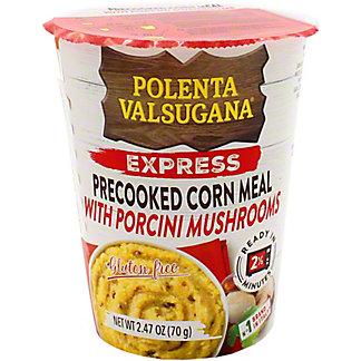 Valsugana Polenta Express Pre-Cooked Corn Meal W Mushroom , 2.47 oz