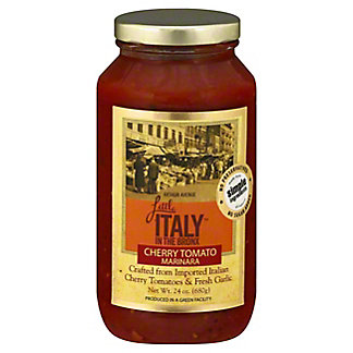 Little Italy In The Bronx Cherry Tomato Pasta Sauce, 24 oz