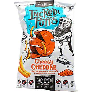 The Snack Brigade Incredi Puffs Cheesy Cheddar, 6 oz
