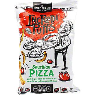 The Snack Brigade Incredi Puffs Saucilian Pizza, 6 oz