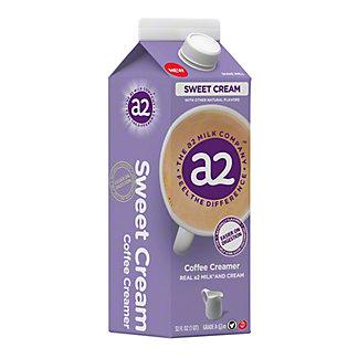 a2 Milk Sweet Cream Coffee Creamer, 32 oz