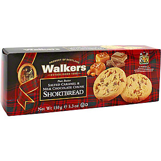 Walkers Salted Caramel Chocolate Chunk Shortbread , 5.3 oz