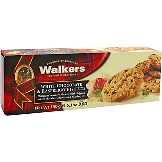 Walkers Raspberry White Chocolate Shortbread, 5.30 oz