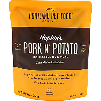 Portland Pet Food Company Pork N Potato Dog Meal, 9 oz