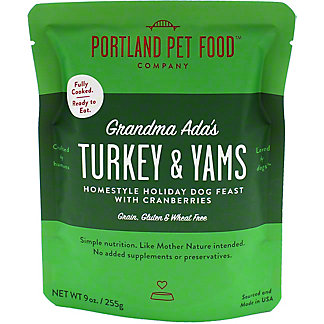 Portland Pet Food Company Turkey & Yam Dog Meal, 9 oz