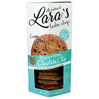 Lara's Bake Shop Gluten Free Chocolate Chip Cookies, 7 oz