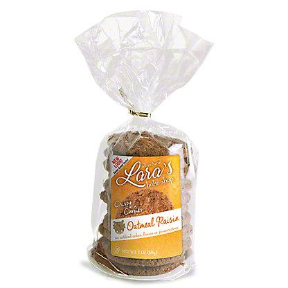 Lara's Bake Shop Oatmeal Raisin Cookies, 7 oz