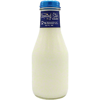 Shooting Star Dairy Organic 2% Reduced Fat Milk, 32 oz